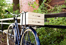 The Piebox Is a Wood Box For Pies. And It'll Fit on Your Bike, Too!